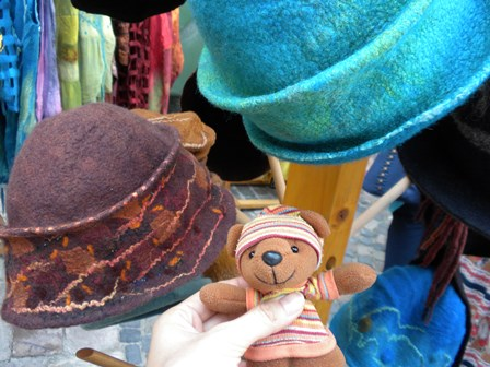 2010年8月20日工芸祭り フェルト帽
