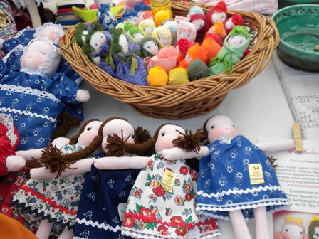 2010年8月20日工芸祭り 人形