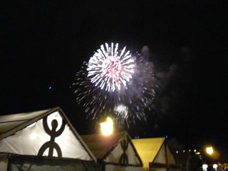 2010年8月20日工芸祭り 花火
