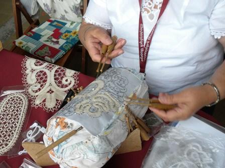 2010年8月20日工芸祭り(レース)