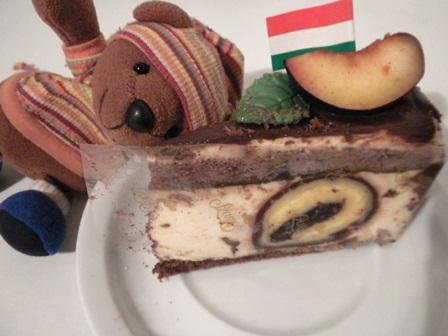 2010年ハンガリー誕生日ケーキ