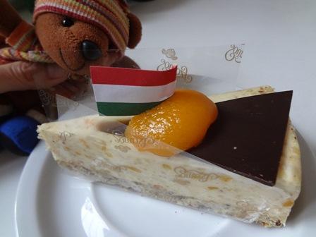 2011年ハンガリーお誕生日ケーキ