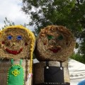 キャベツ祭り 干草人形