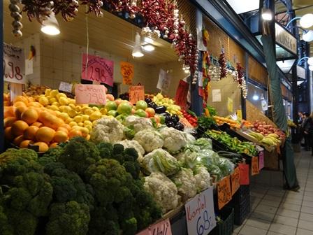 中央市場 野菜