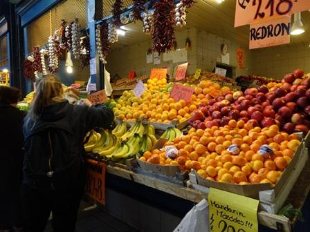 中央市場 果物