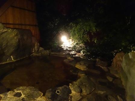 美郷館 岩風呂