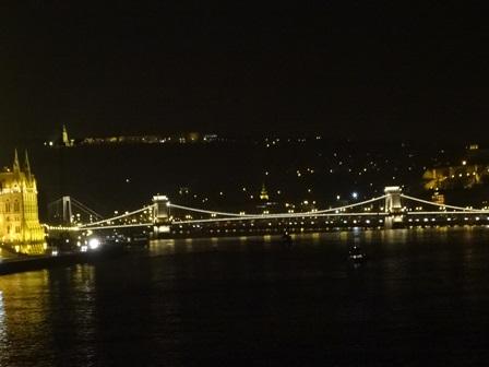 11月30日 くさり橋夜景