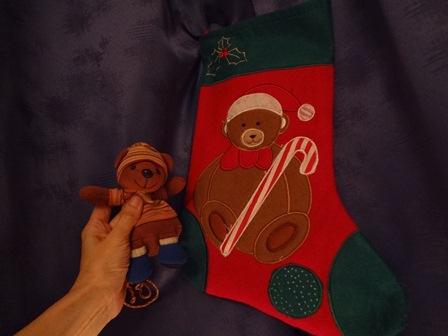 クリスマスのブーツ