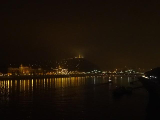 ドナウ川夜景 2014年2月8日