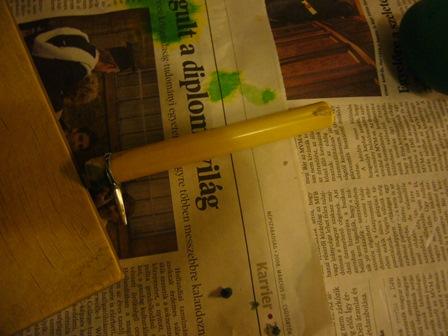 ロウ描き用のペン