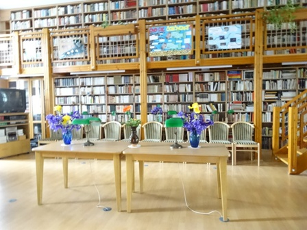 卒業式 図書室