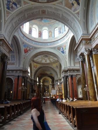 エゲル大聖堂 内部