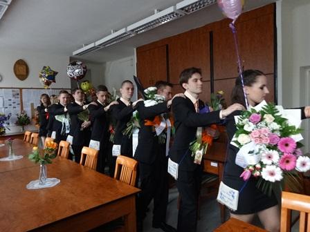 卒業式(職員室)