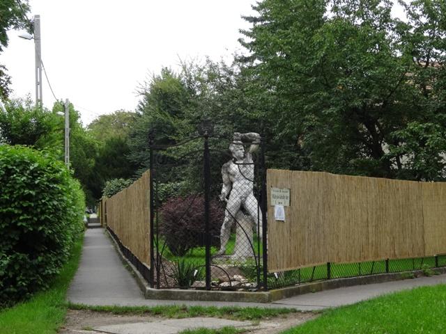 一般住宅の彫刻