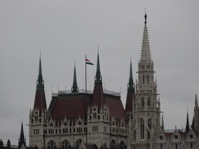 国会議事堂・国旗