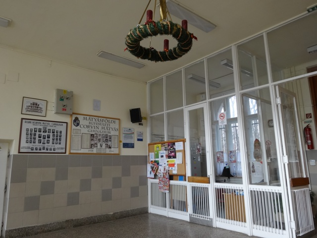 玄関(クリスマス仕様)