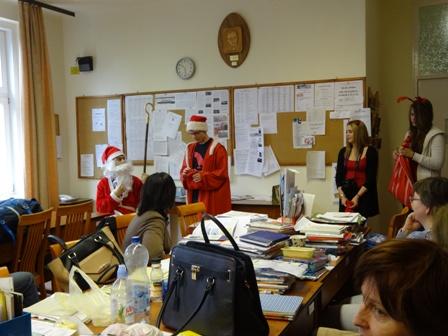 サンタの日職員室2