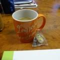 コーヒーと甘納豆