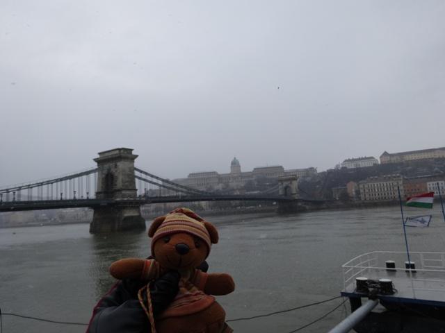 1月25日くさり橋