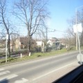 バスの車窓から
