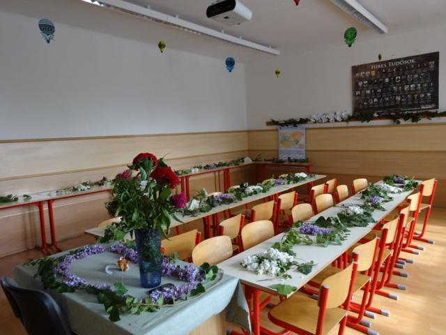 卒業式 教室
