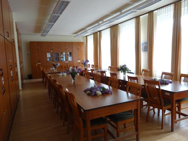 卒業式 職員室1