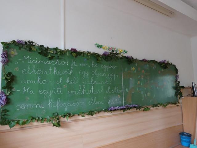 卒業式 黒板