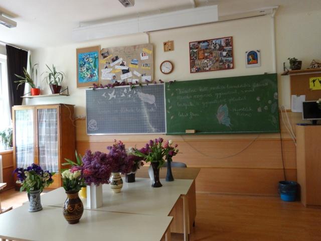 卒業式 教室3
