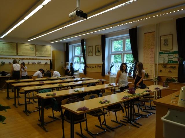 卒業式 教室2