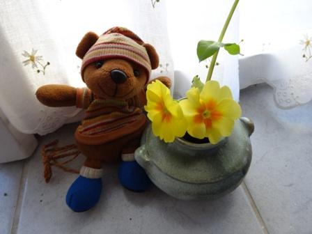 ぷり村さん 花瓶