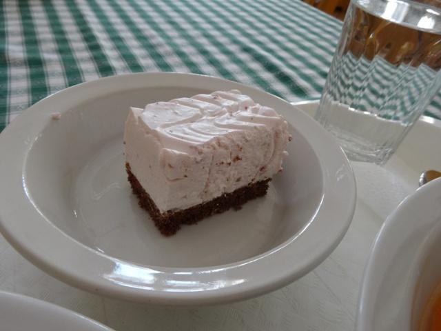 ラズベリーヨーグルトケーキ