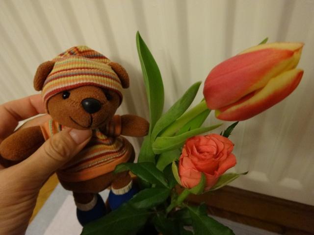婦人デーのお花