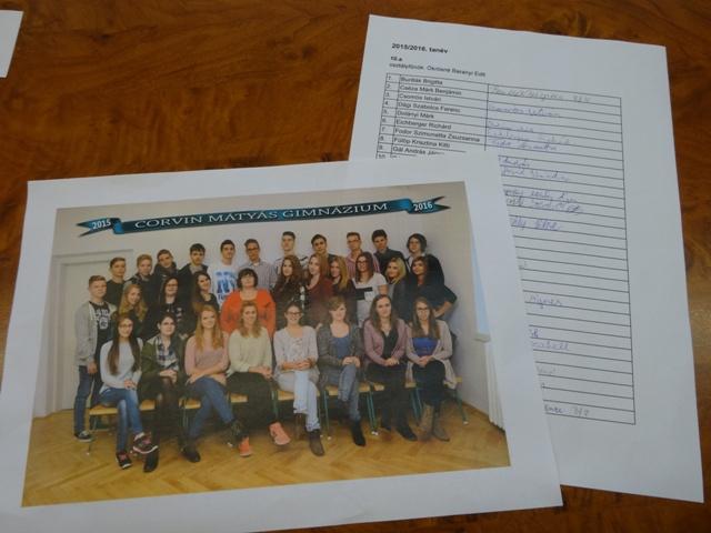 昨年のクラス写真