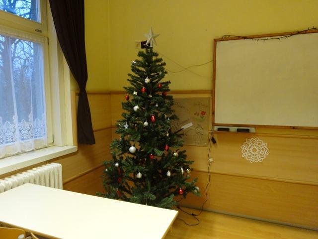 208教室のツリー