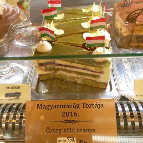 ケーキ店頭