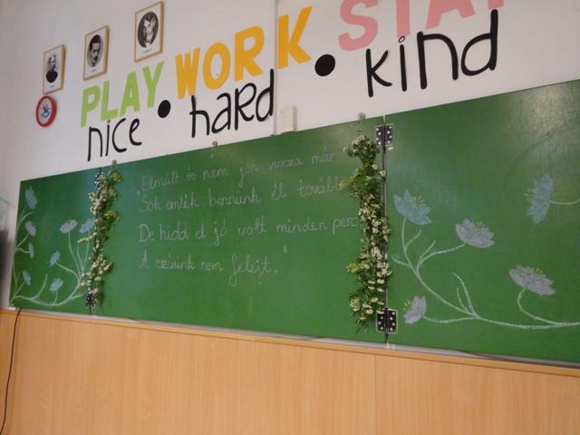 2教室黒板