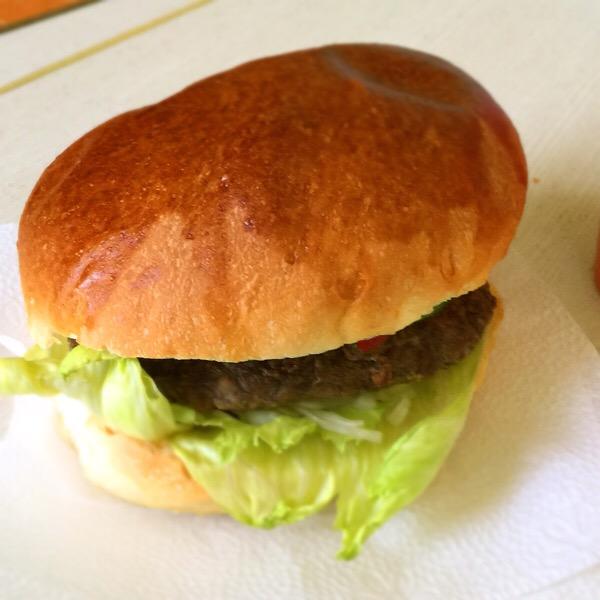 売店ハンバーガー