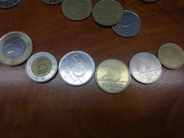 ハンガリー・フォリント小銭