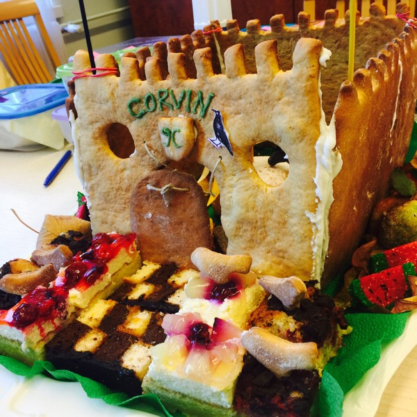 お菓子の城塞