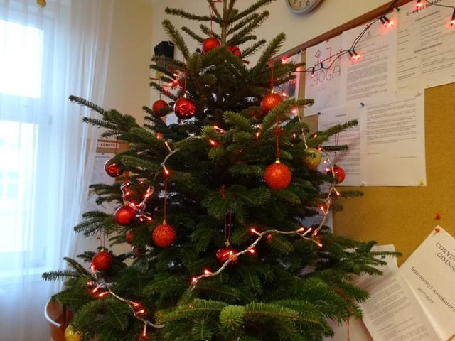 職員室のツリー