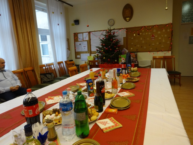 クリスマスパーティの日
