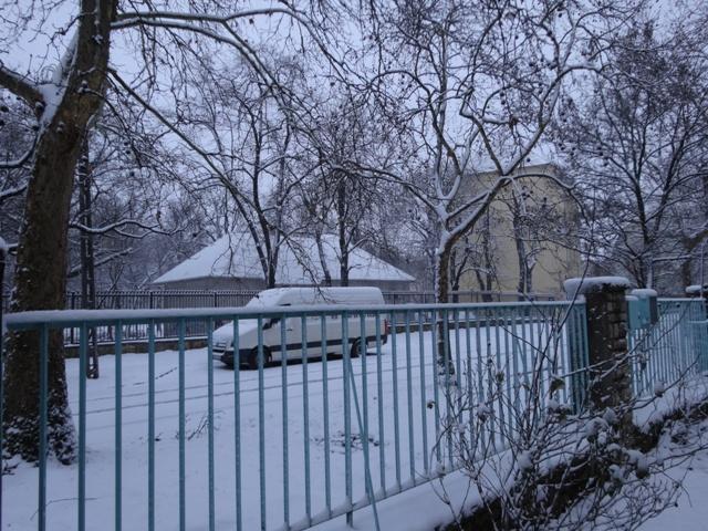 日曜日の雪2