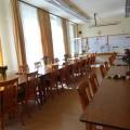 卒業式の職員室