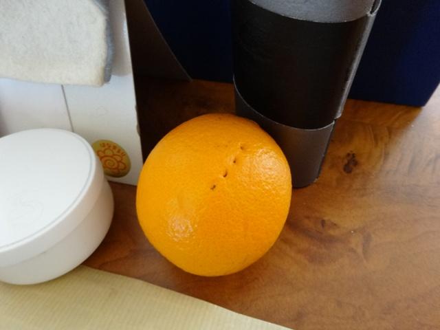 オレンジに異変