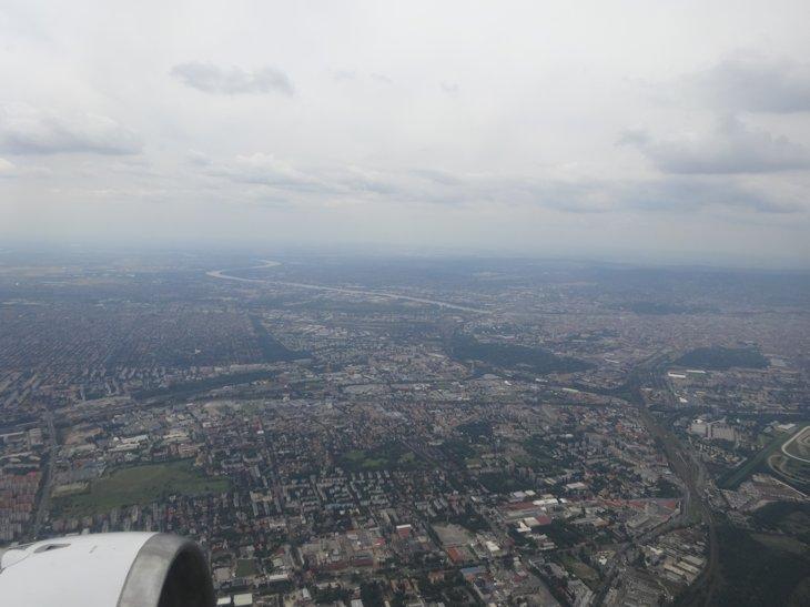 2018年7月4日ブダペスト上空