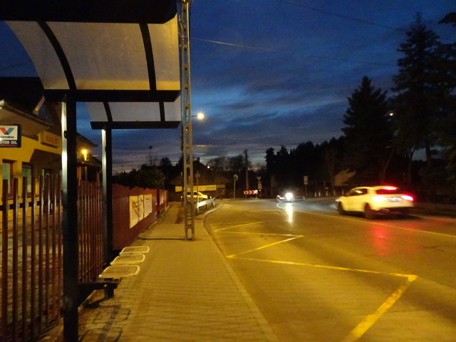 2019年3月4日 バス停