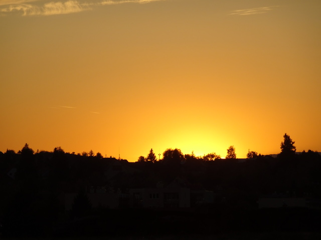 エゲルの日没1