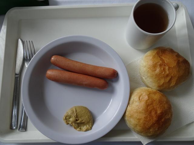エゲル学生寮の朝食2
