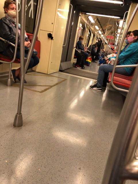 2020年5月30日地下鉄