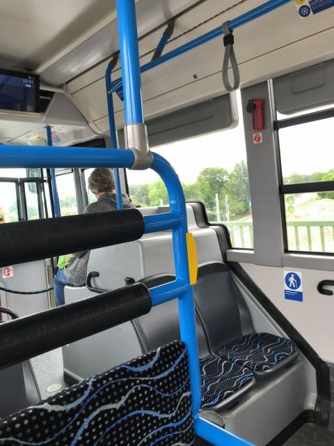 2020年6月18日のバス